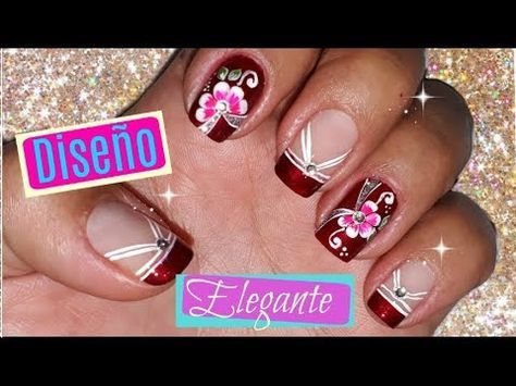 Youtube Diseños De Uñas Pinterest Nails Toe Nails Y Nail Art