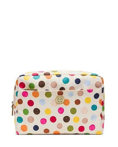 d72ead777b5 Tory Burch Printed Nylon Large Beauty Bag