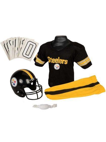 10ecd95ac Childs NFL Steelers Helmet and Uniform Set