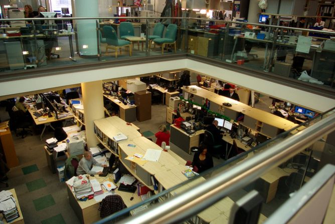 Open plan offices attract highest levels of worker dissatisfaction study
