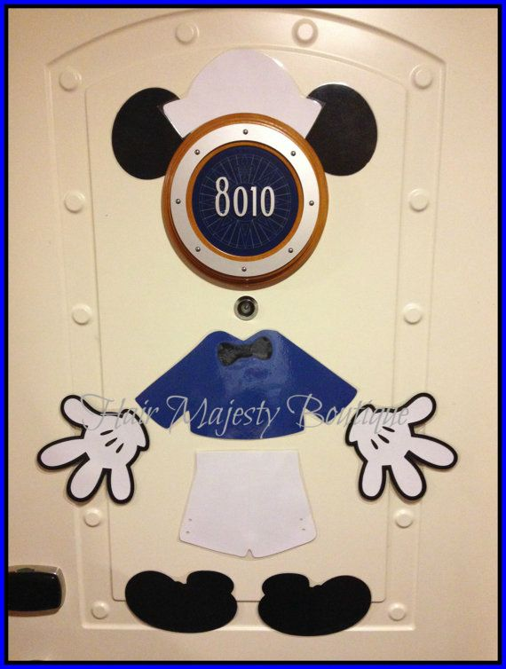 Captain Mickey Mouse Body Part Magnet For by HairMajestyBoutique, $16.00