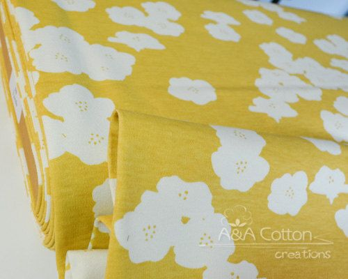 ORGANIC KNIT Jersey Fabric Certified Cotton by AACottonCreations ... : organic cotton quilt fabric - Adamdwight.com