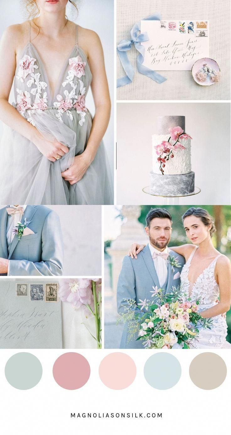 Top 5 Spring Wedding Color Palettes | Magnolias on Silk