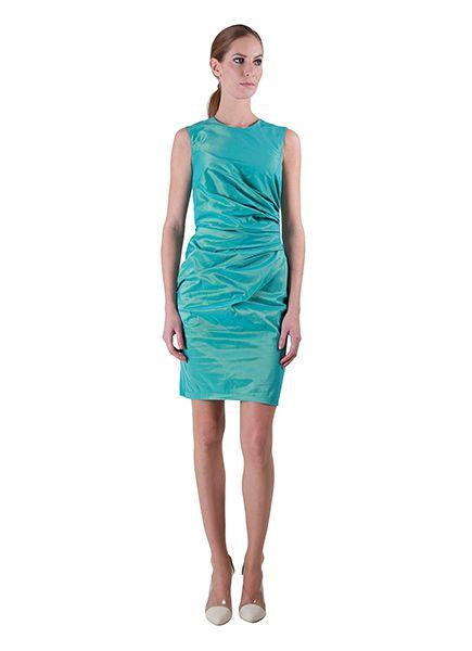 Berlin Dress Osai Aqua