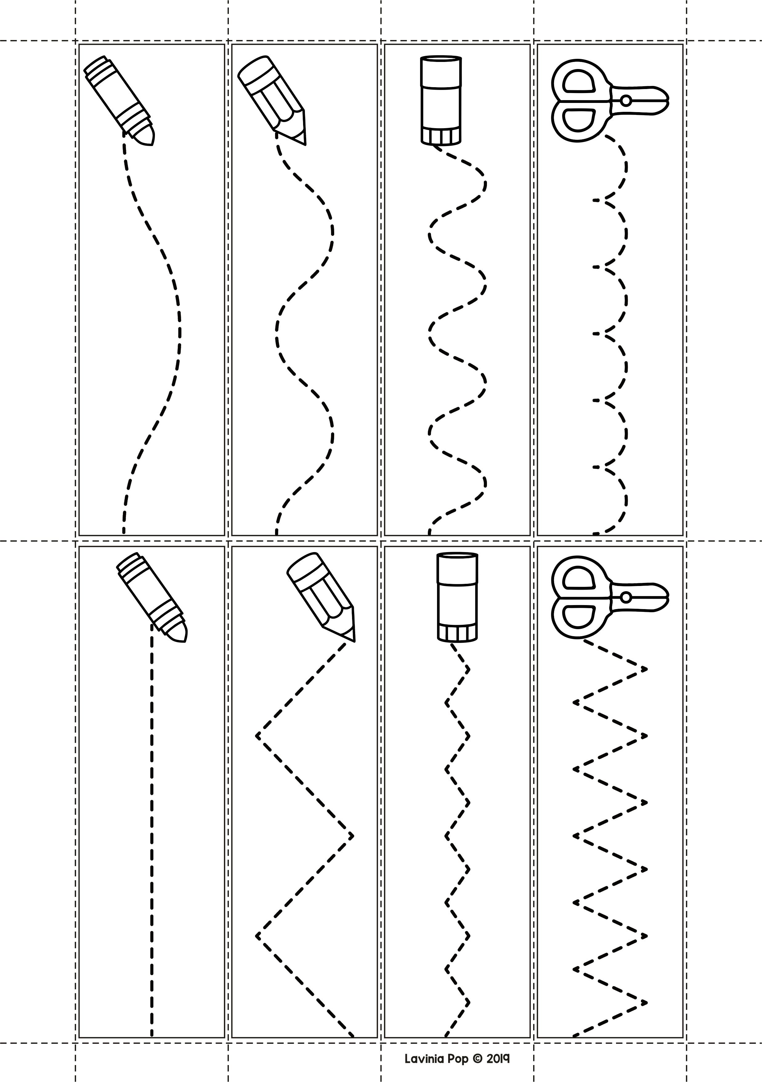 Fine Motor Printable Activities For August Preschool Worksheets Kids Worksheets Preschool Preschool Fine Motor Activities Free preschool cutting worksheets