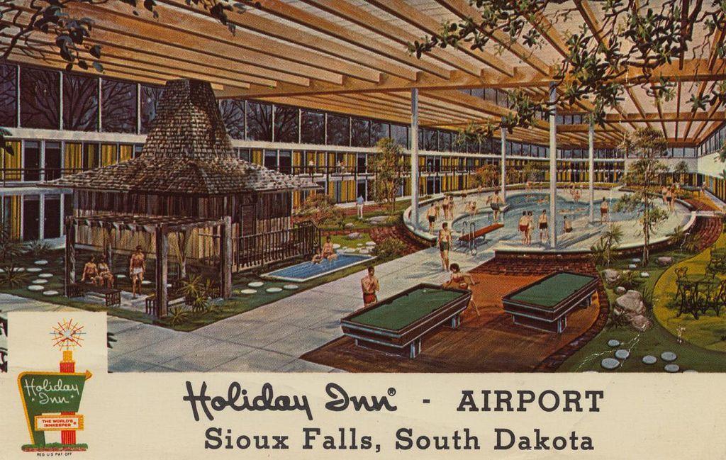 Holiday Inn Airport Sioux Falls South Dakota Holiday Inn Sioux Falls Vintage Hotels
