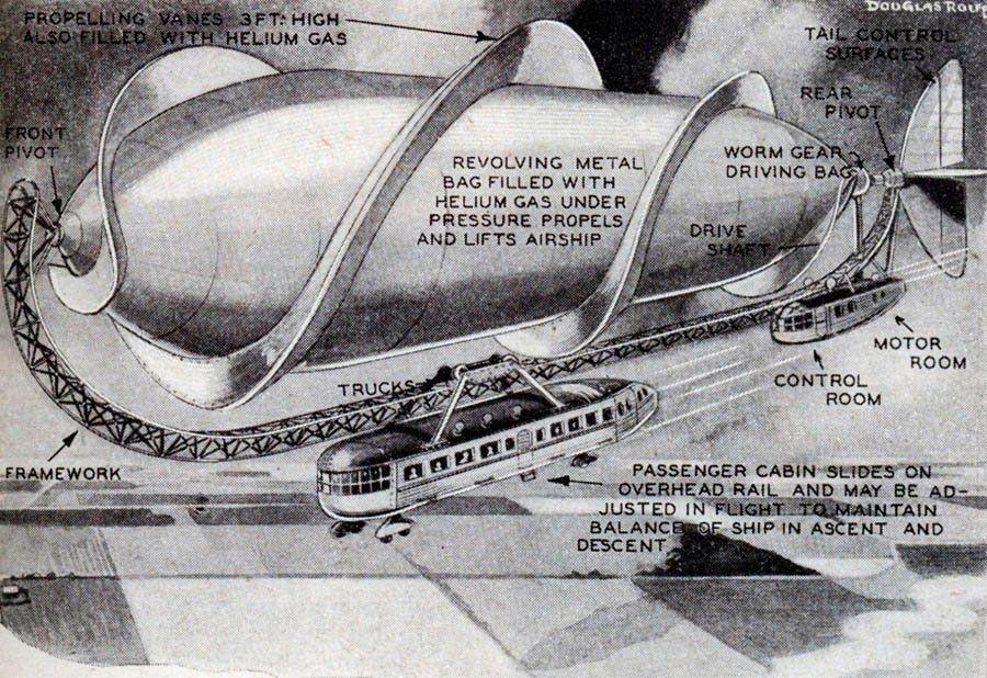 ダークローストブレンド:飛行船の夢