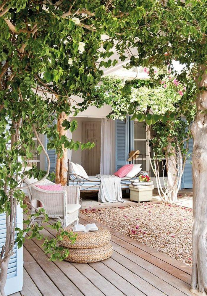 1001 Idees Pour Votre Terrasse Couverte Les Realisations Astucieuses Avec Images Terrasse Jardin