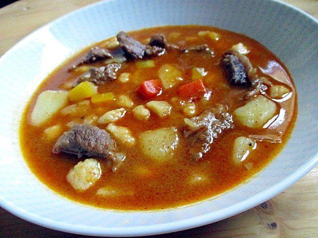 Hungarian goulash soup | →food | Goulash soup, Goulash