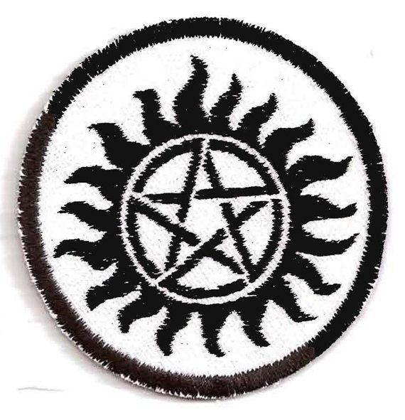 Anti Demonic Possession Patch Xx Nifty Patches Xx Pinterest