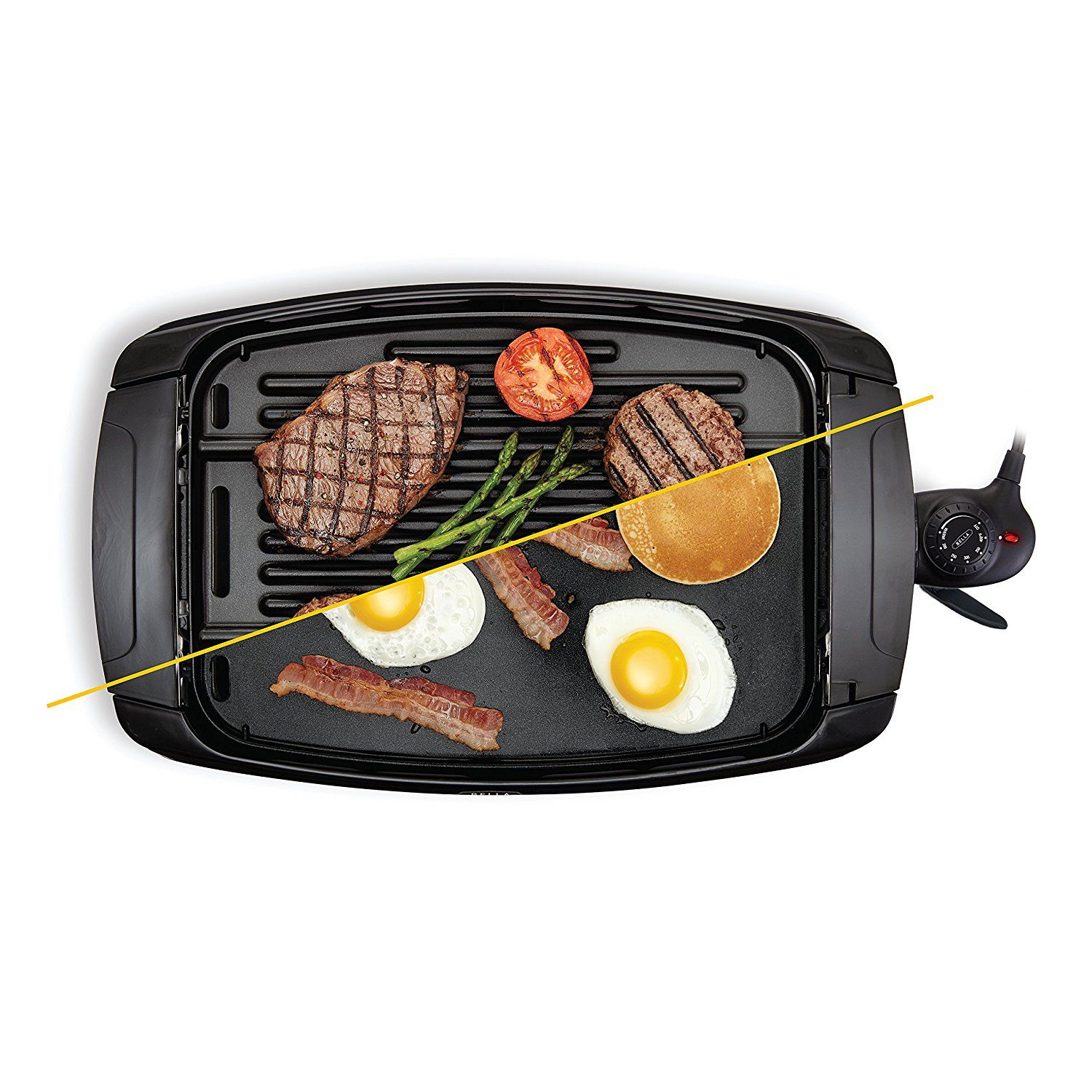 Bella 2 In 1 Reversible Grill Griddle Combo 1500 Watts Non Stick Bpa Free Learn More By Visiting The Image Link Griddles Grilling Gas Grill Reviews
