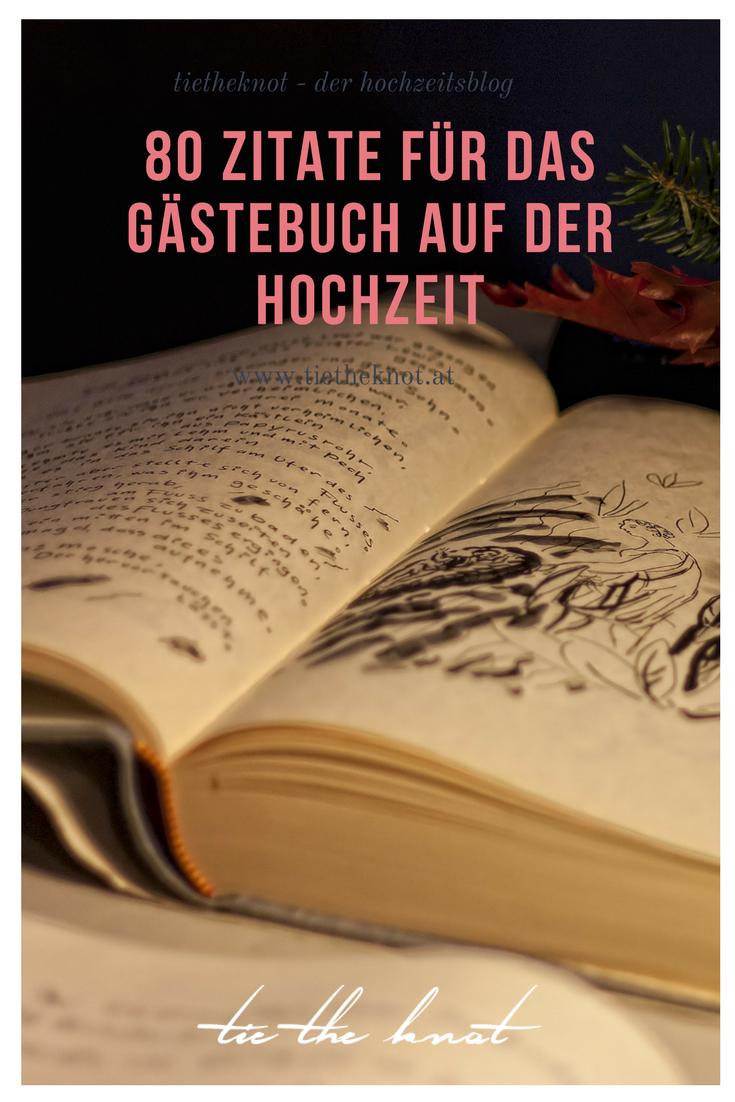 80 Zitate für das Gästebuch: Die schönsten Sprüche zur Hochzeit ...