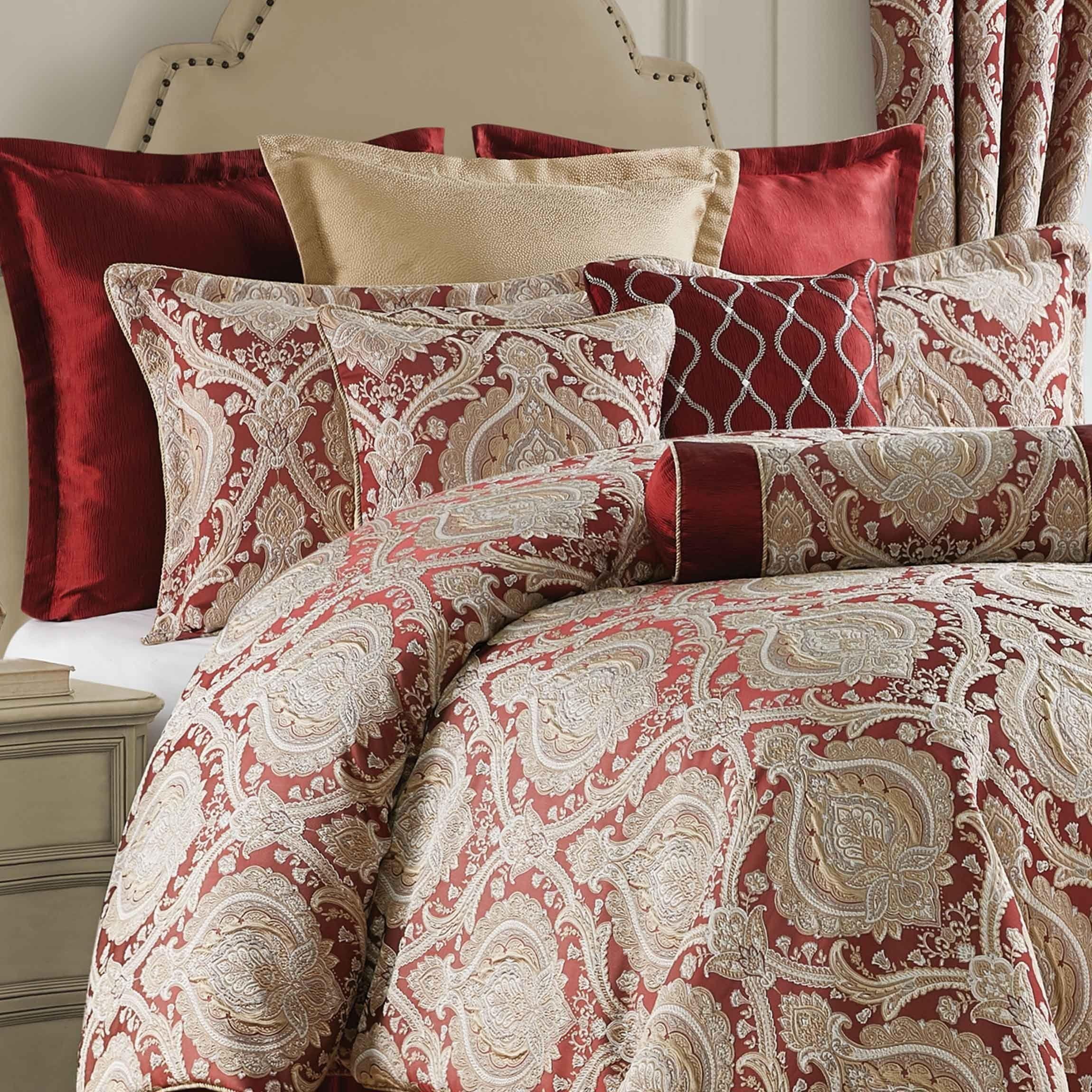 Norwich Wine 4Piece Comforter Set Comforter sets