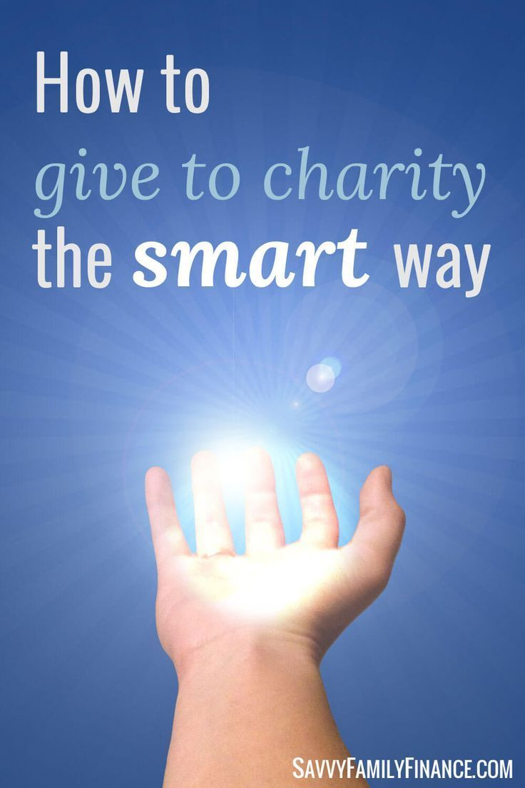 How to Give to Charities the Smart Way   Giving Gifts