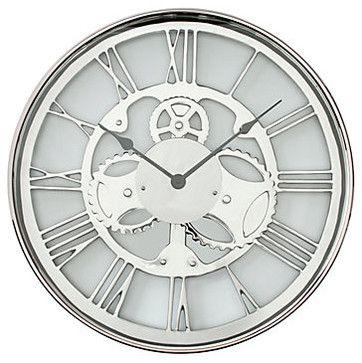 Metal Gear Clock Modern Clocks Z Gallerie Gear