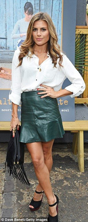Millie Mackintosh shows off her legs in flirty mini dress | Diana ...