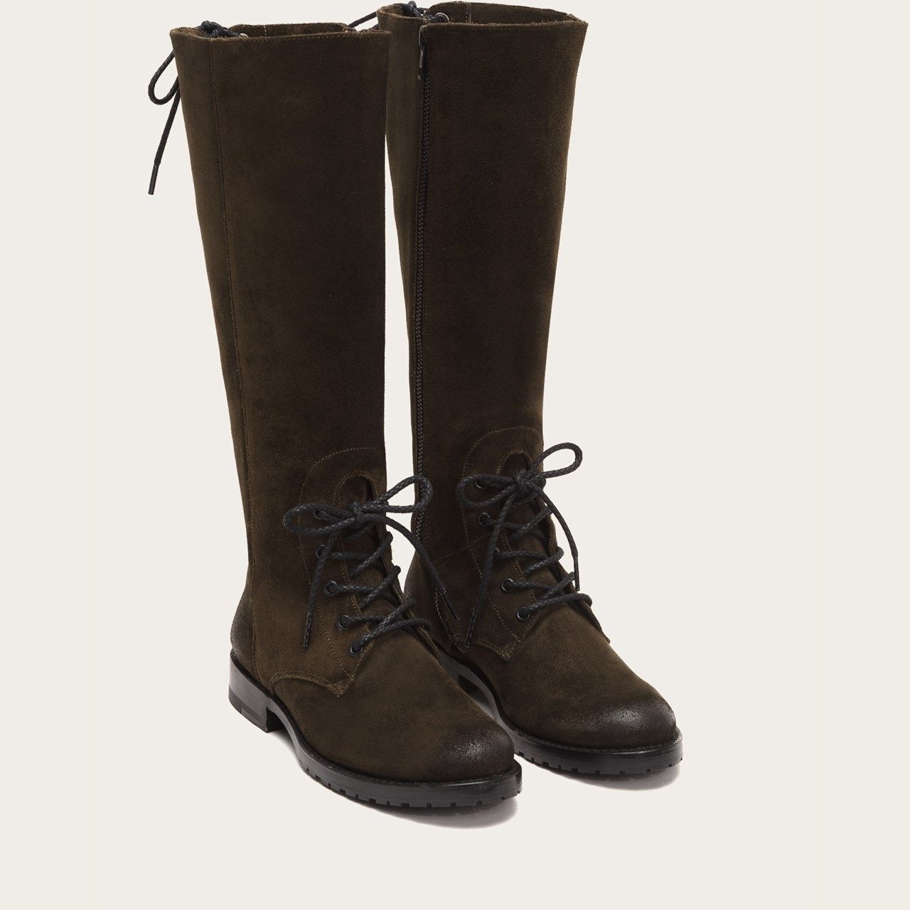 78e8ceed1a9 Natalie Combat Tall Boots | FRYE Since 1863 | Style. | Tall boots ...