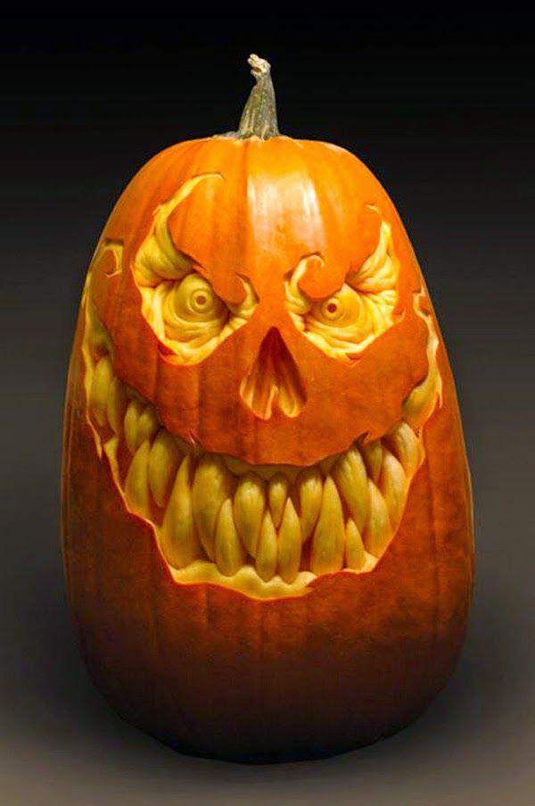 cool pumpkin carving ideas pumpkin carving ideas 2014 crazy and rh pinterest com unique pumpkin faces unique pumpkin faces