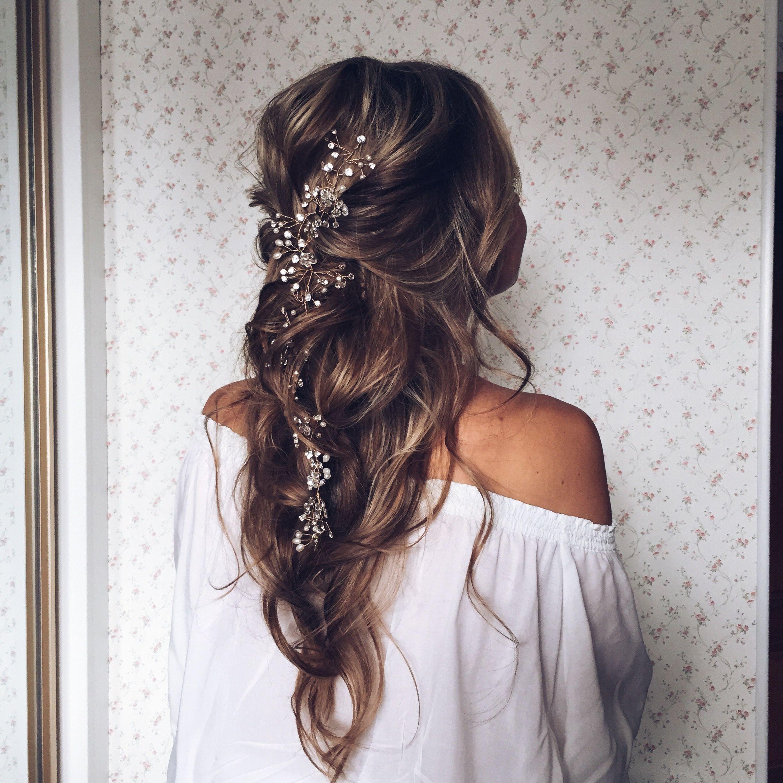 MARIA Crystal Wedding Headpiece jewelry Pinterest
