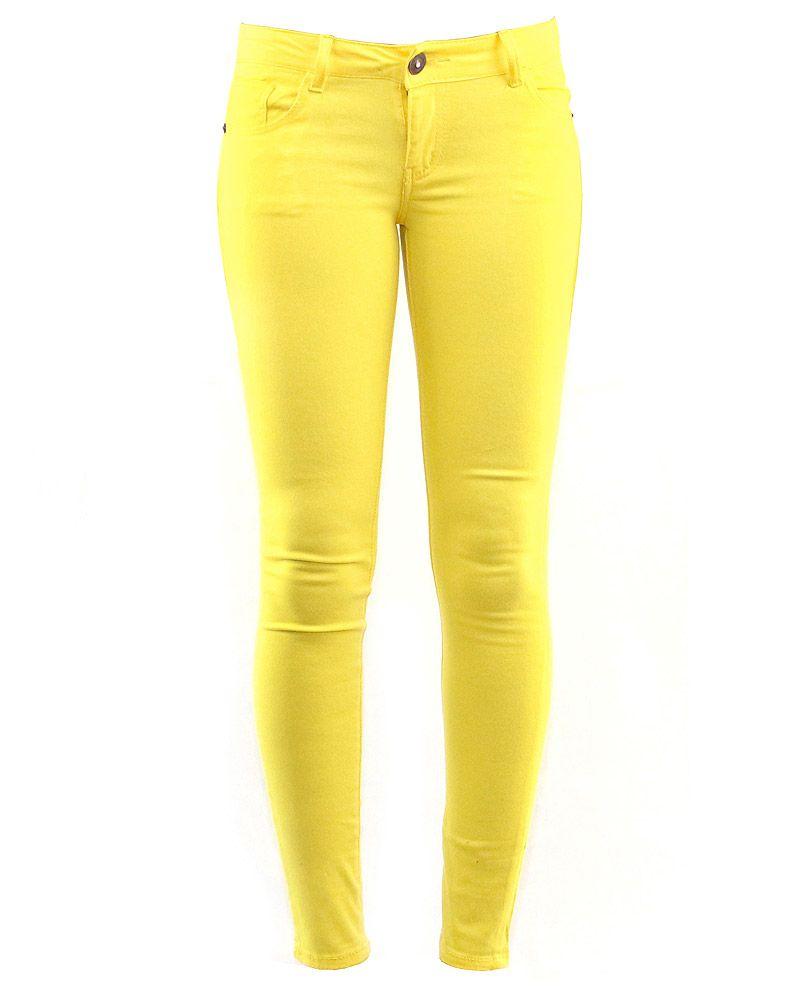 8108bd7e2aa8 yellow jeans - Google Search