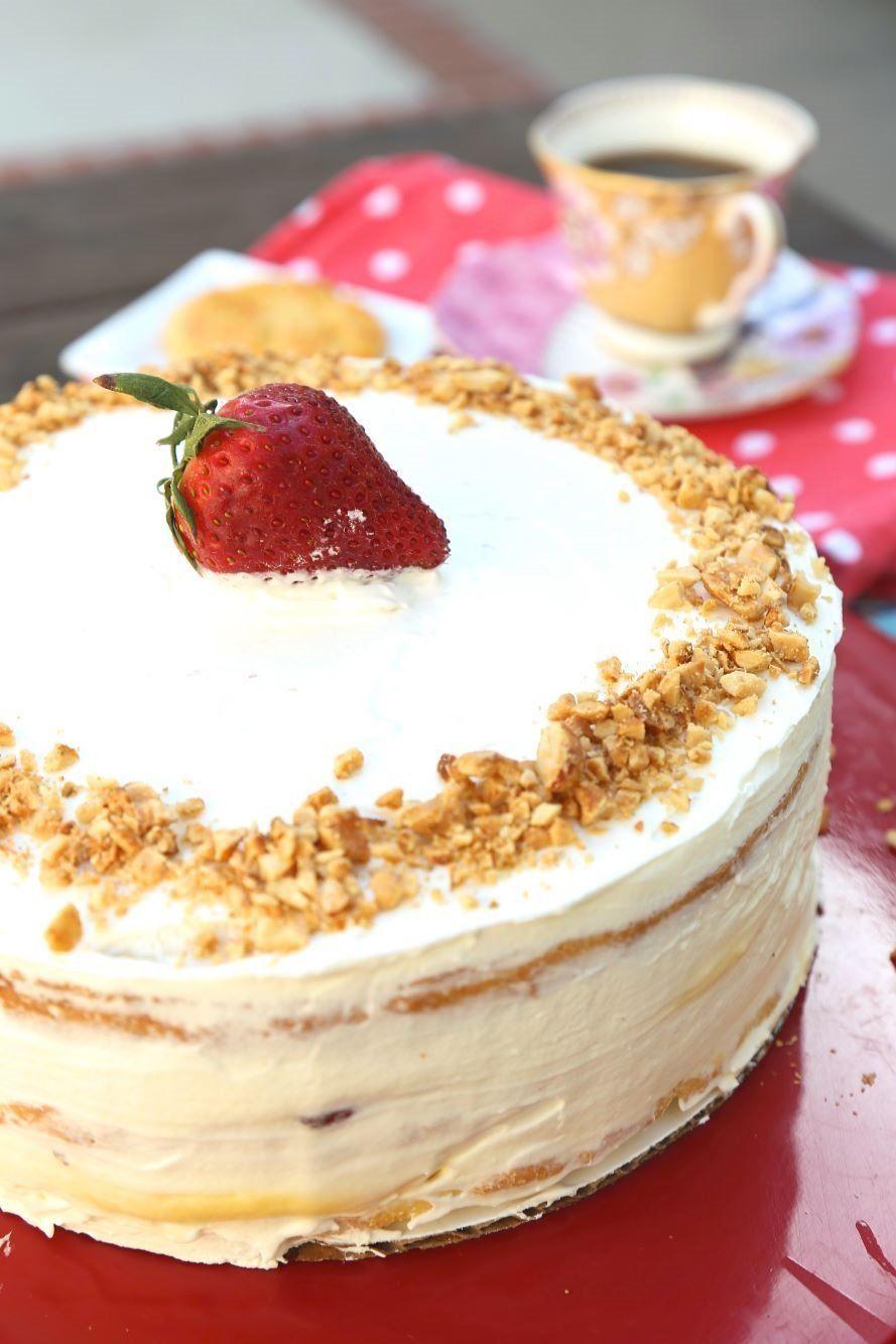 CustardFilled Victoria Sponge Cake Wallflour Girl