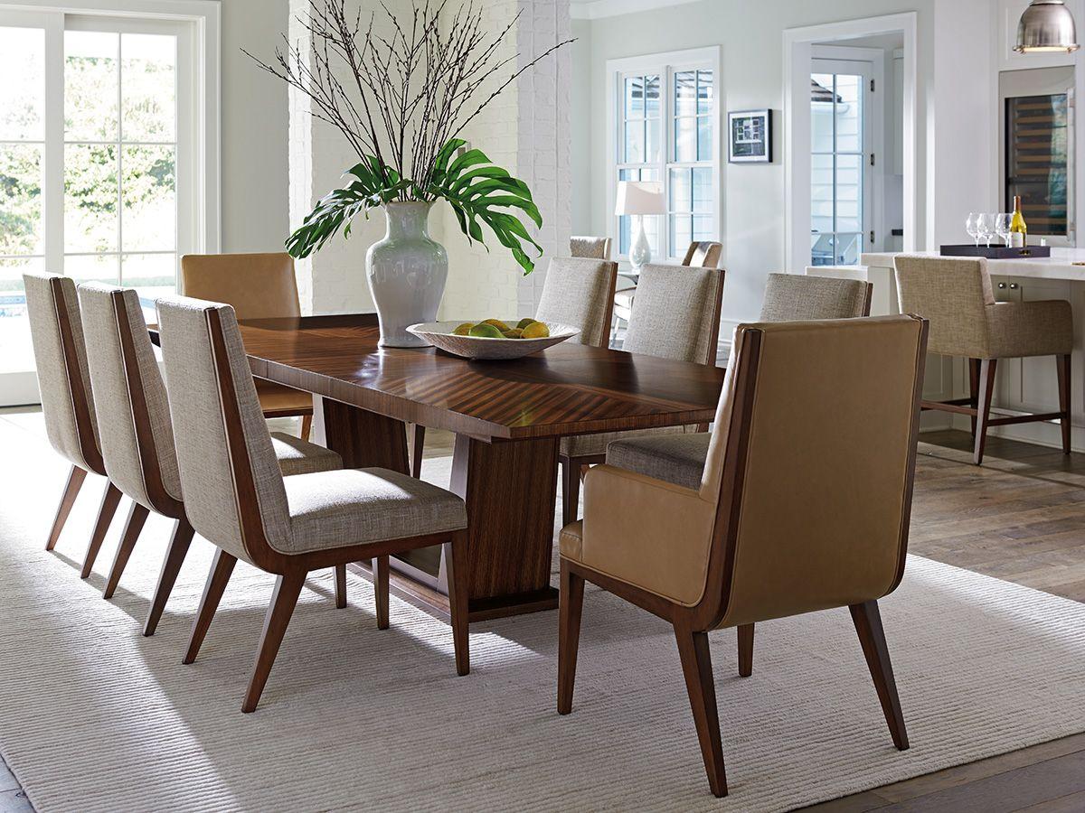 Kitano Caldera Rectangular Dining Tab Lexington Home Brands