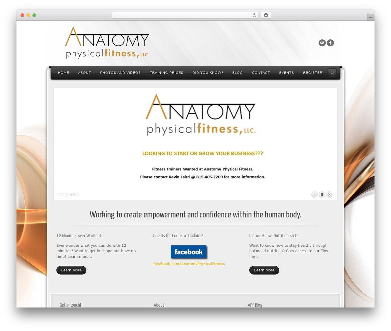 Amazing Wordpress Theme Anatomy Model - Physiology Of Human Body ...