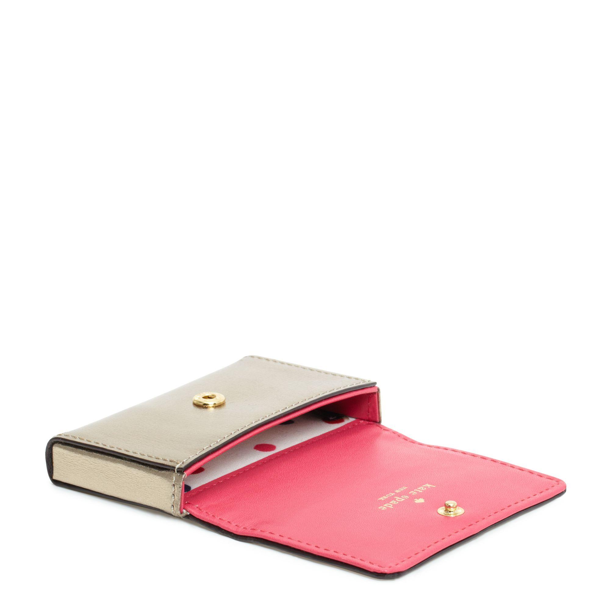 kate spade business card holder  wallets wristlets accessories
