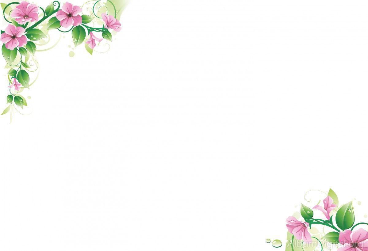 Fondo Primavera álbum Classic Flores Violetas: Fondo Vintage Con Flores Para Bajar Gratis Y Usar Como