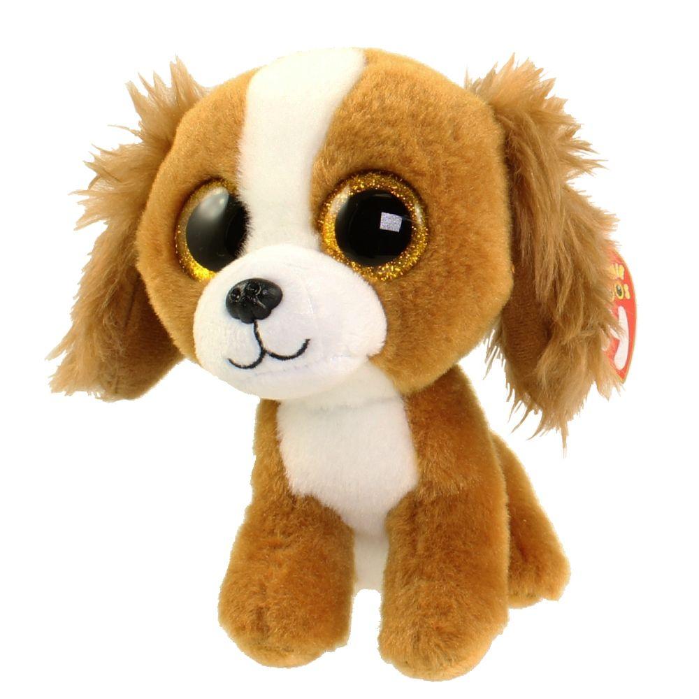 Ty Beanie Boos Tala The Brown Dog Glitter Eyes Regular Size