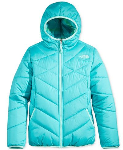 da1f9000 The North Face Girls' or Little Girls' Reversible Perrito Jacket ...