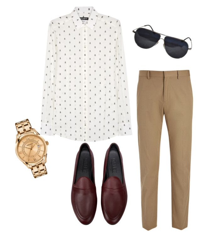 """""""Menswear"""" by nitikasirmour on Polyvore featuring Dolce&Gabbana, Joseph, Galet, Versace, BMW, men's fashion and menswear"""