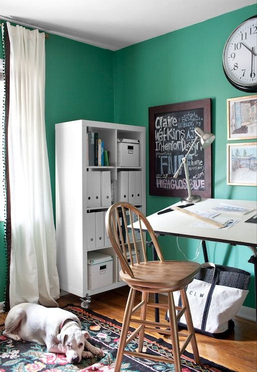 Ikea Home Office Library Ideas: Ikea Window Treatments, Vintage, Den/library/office