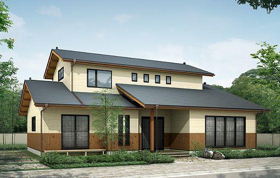 住宅の印象を左右する 外壁の色 こだわりの絶妙カラーが素敵な外壁