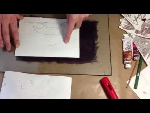Monotype Trace drawing Tutorial pt4 - YouTube
