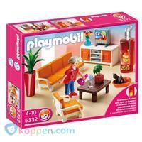 PLAYMOBIL 5332 Gezellige Woonkamer - Koppen.com PLAYMOBIL 5332 ...