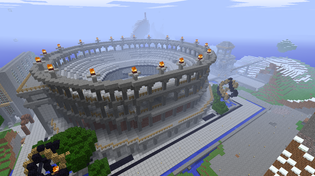 Minecraft Colosseum | Minecraft | Minecraft construction