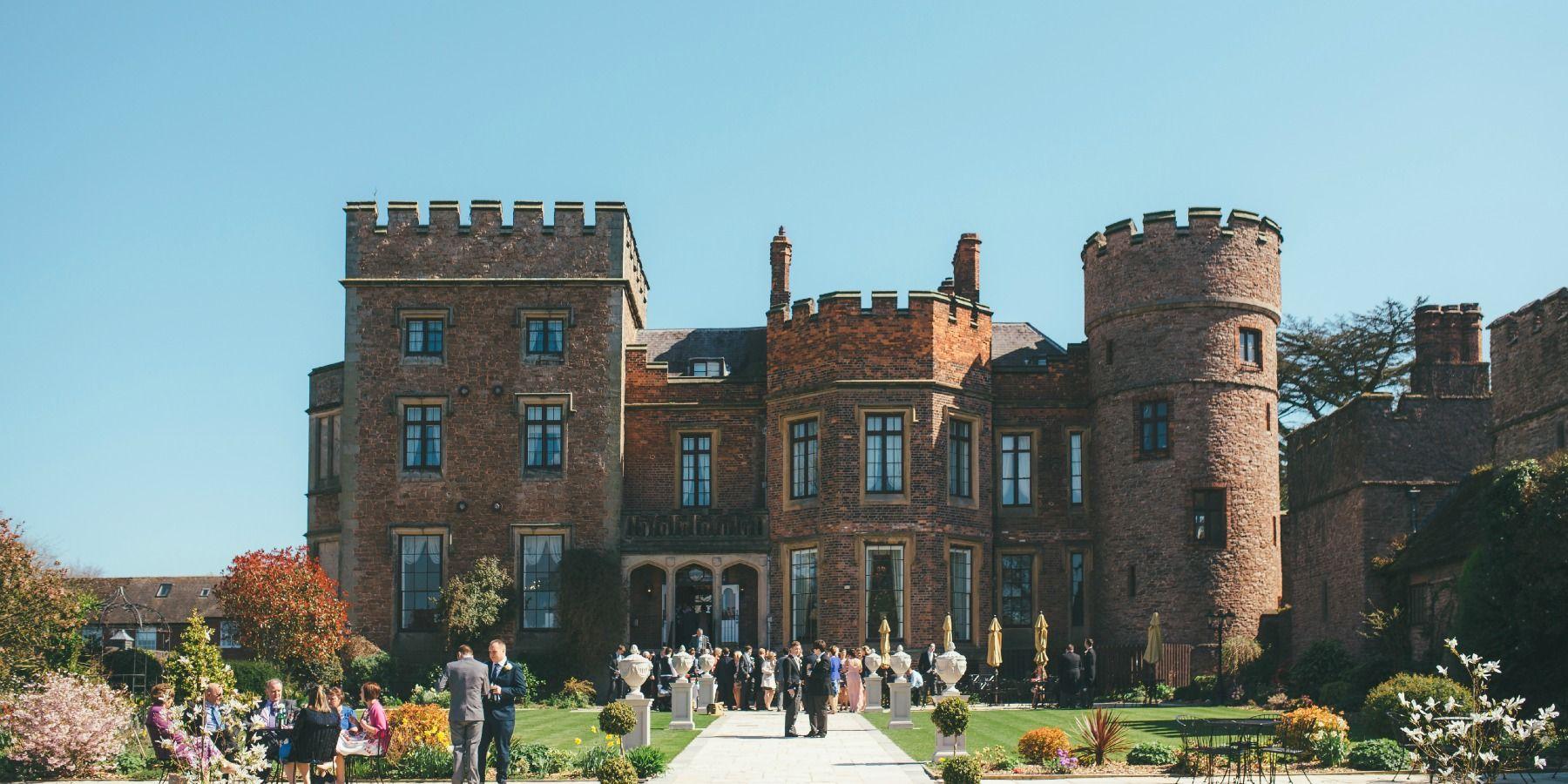 Rowton Castle Wedding venues uk, Castle wedding venue