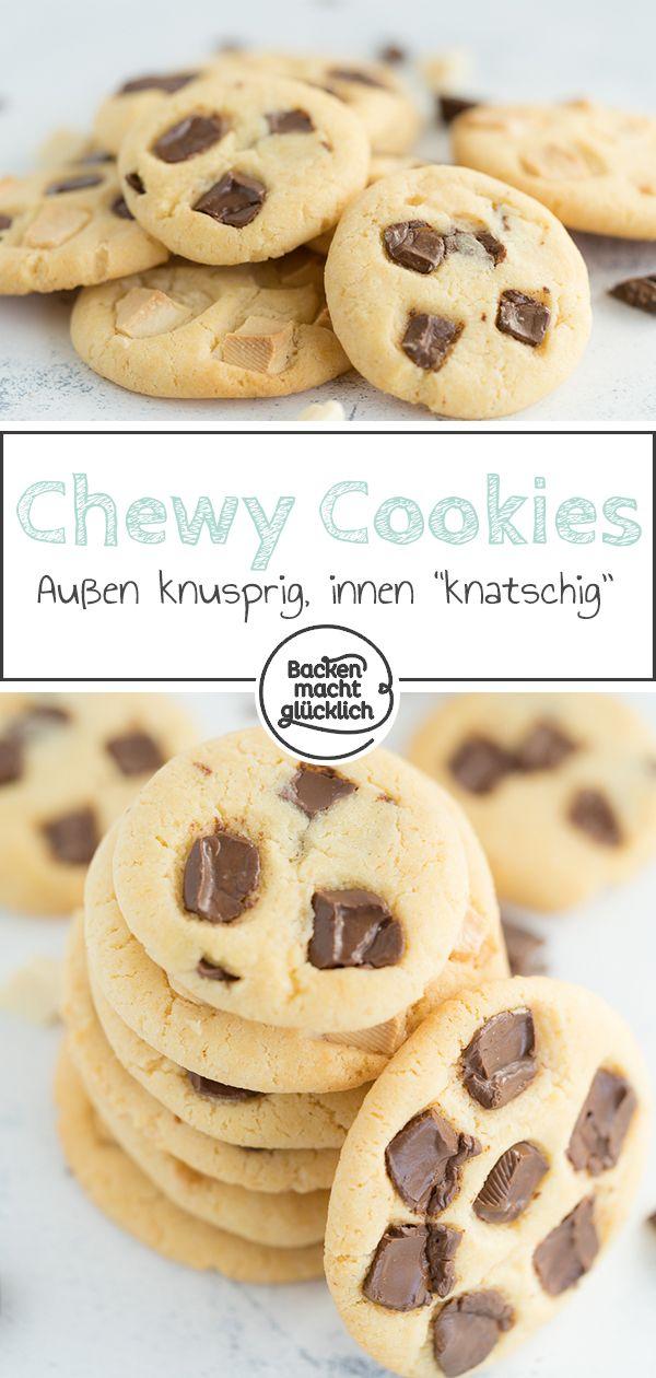 Die besten Chocolate Chip Cookies | Backen macht glücklich #cinnamonsugarcookies
