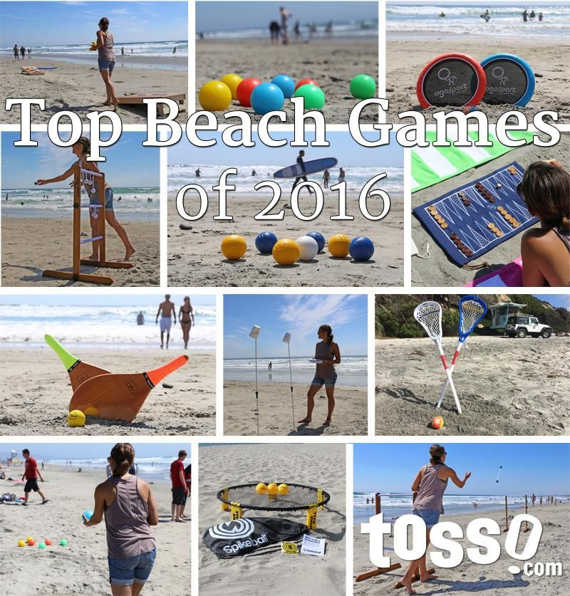 Best Beach & Summer Games of 2016 13th birthday party