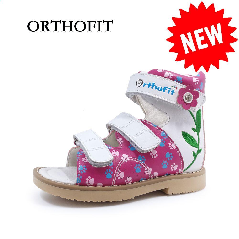Najnowsza Konstrukcja Skora Naturalna Ze Sznurkiem Usztywniajace Ortopedyczne Buty Dla Dzieci Dziewczece Haftowane Su Kid Shoes Flat Feet Shoes Childrens Shoes