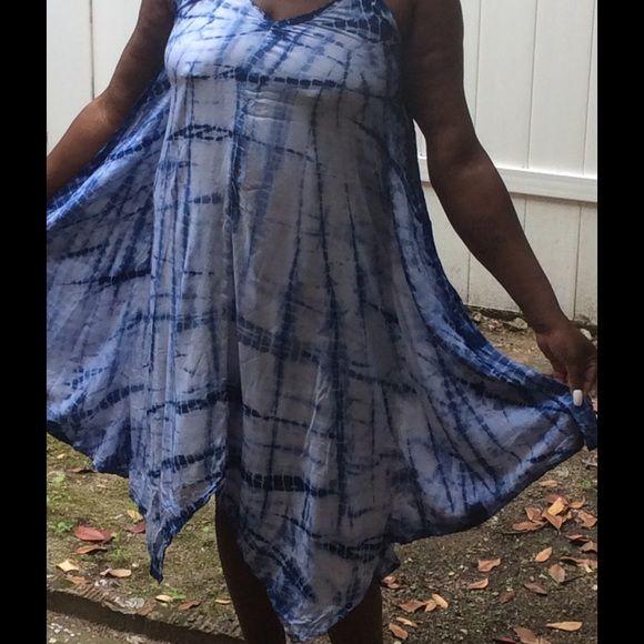 Ladies dress Tie die American Rag Dresses Midi