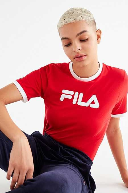 d47bdb67ea8 FILA Tionne Cropped Tee | Trendy | Crop tee, Tees for women, Tees