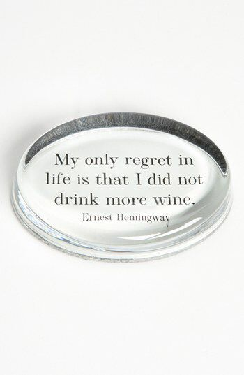 Ben's Garden Ben's Garden 'My Only Regret' French Crystal Paperweight available at #Nordstrom