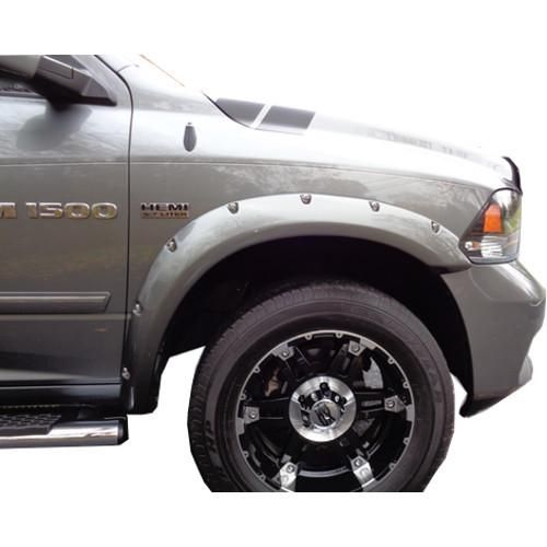 2009 2018 Dodge Ram 1500 Painted To Match Fender Flare Set Bolt Style Dodge Ram 1500 Dodge Ram Pickup Truck Accessories