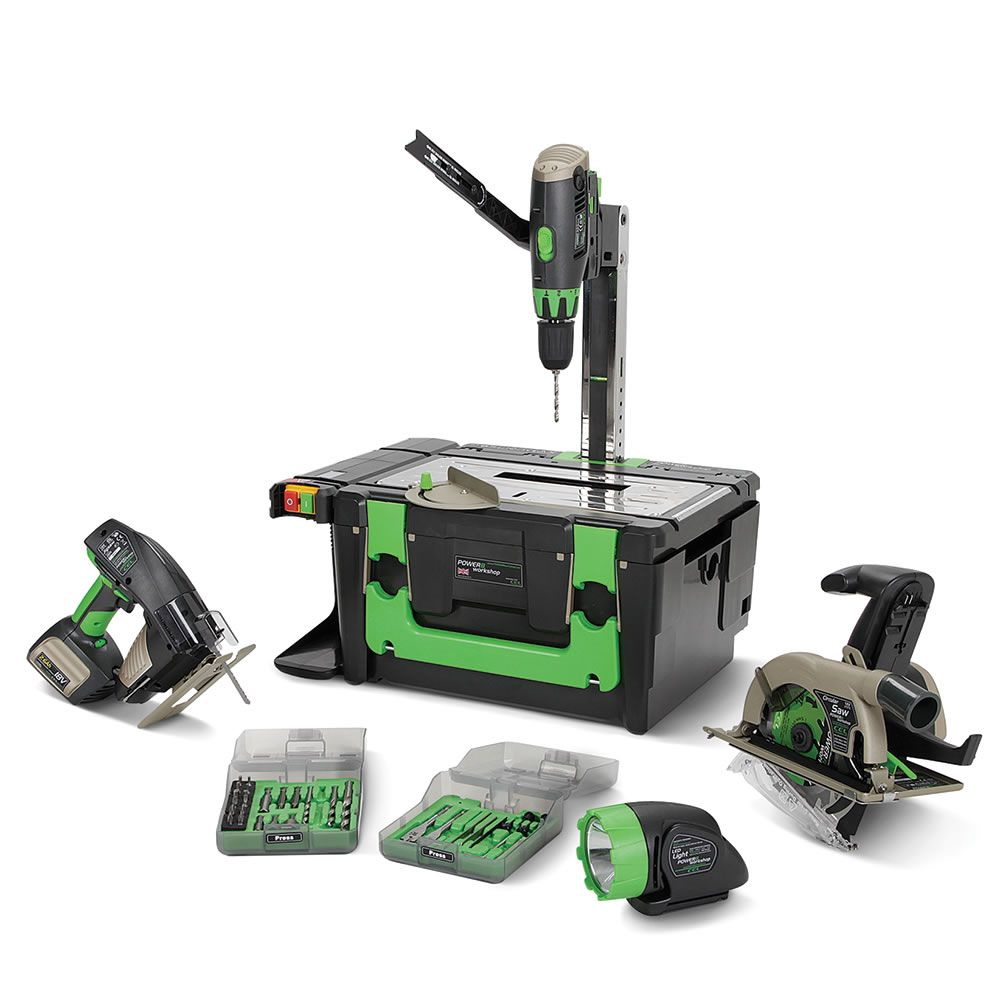 This Is The Portable Workshop With A Cordless Table Saw Circular