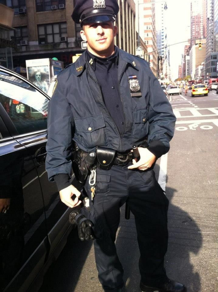 Hot male police officers