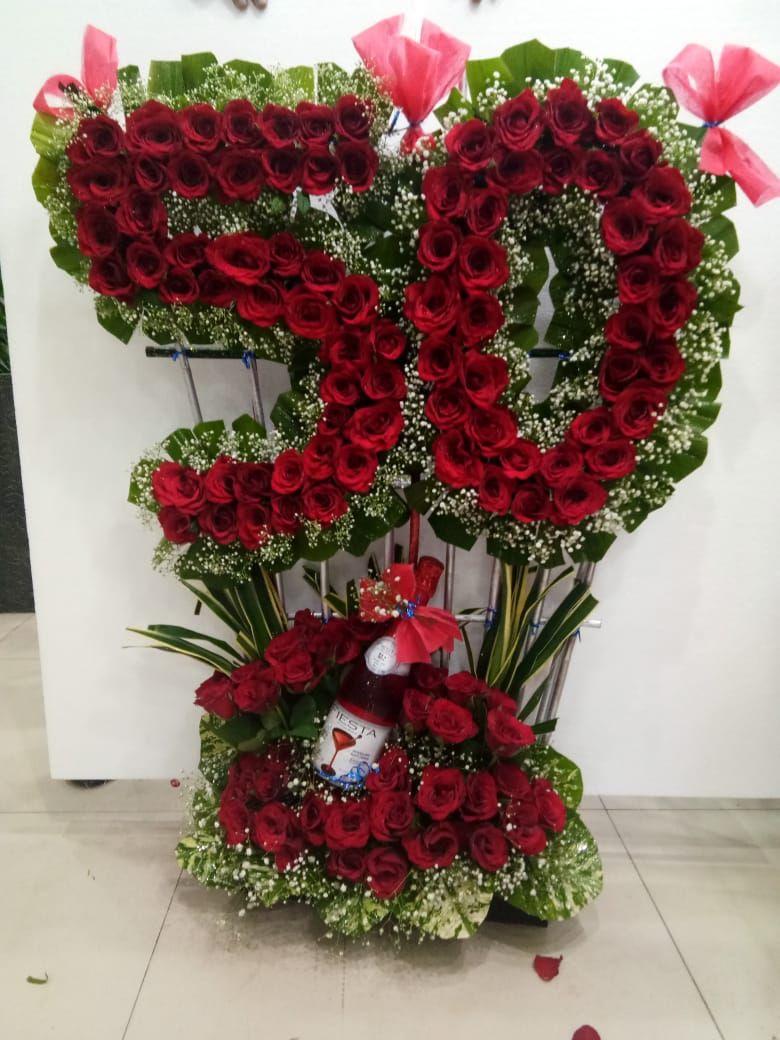 50th Birthday 50th birthday, Birthday, Flower arrangements