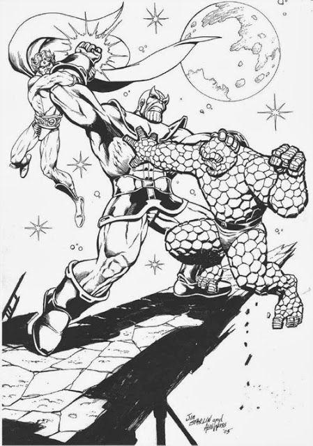 Marvel Comics of the 1980s: Happy Birthday Jim Starlin!