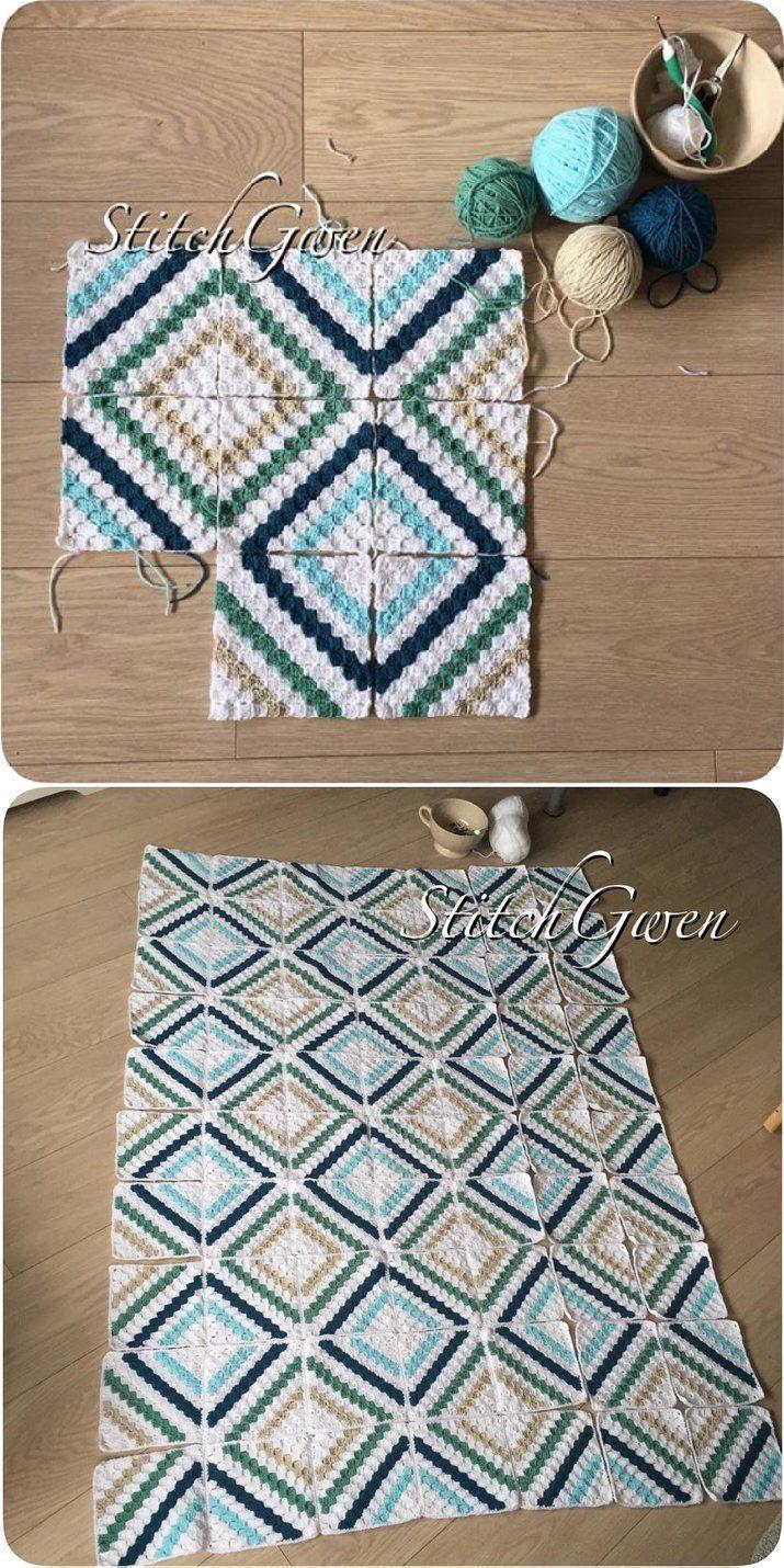 Photo of Cedar River Blanket: Crochet Corner2Corner – New Ideas – – #Cedar # Corner2Cor …